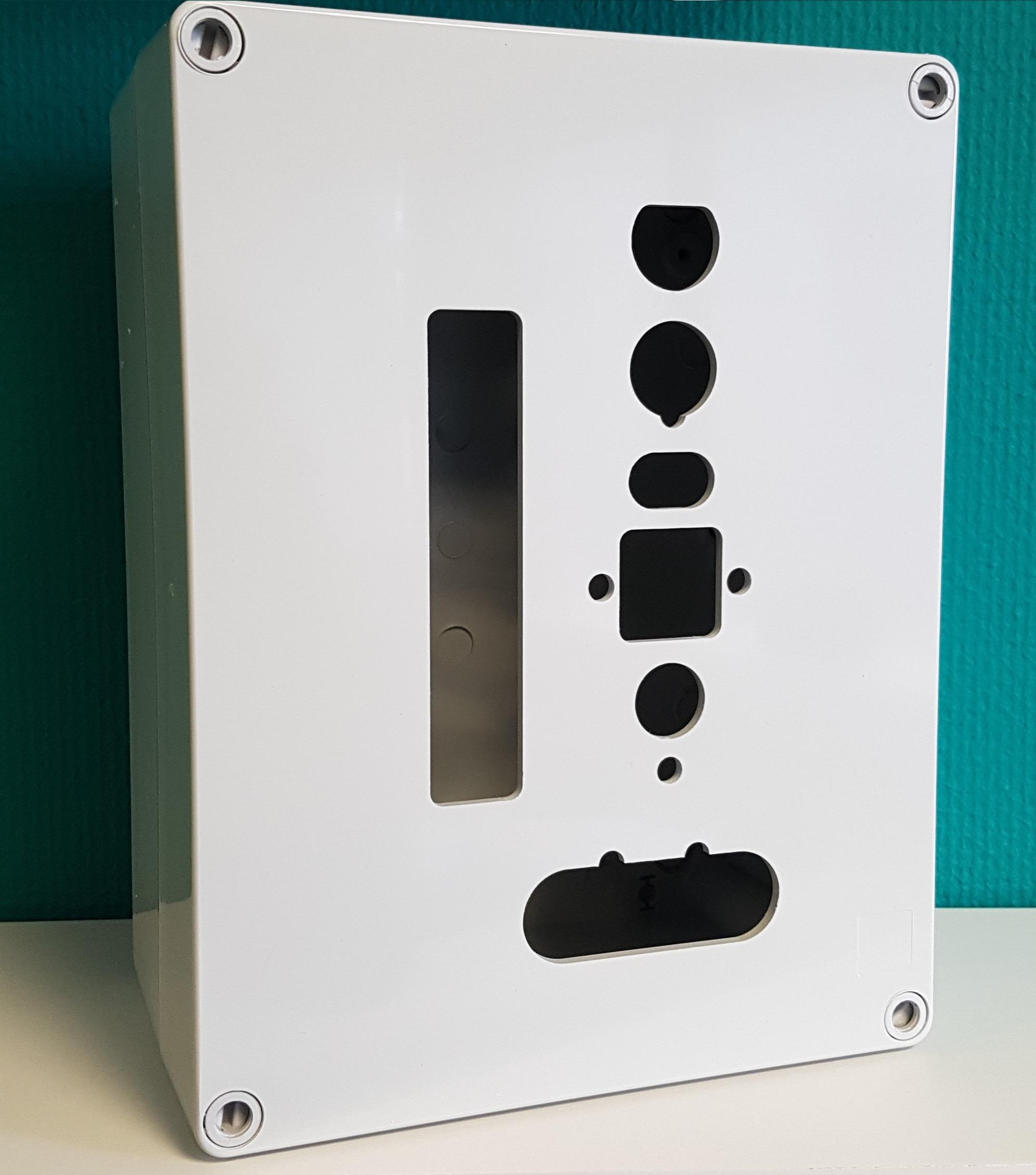 frezen gaten uitsparingen ABS PVC PC Polyester