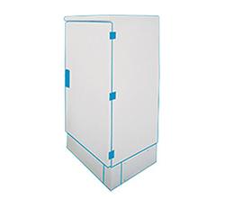 MAXI EURO 1500 polyester kast